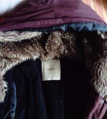 AKCIJA!Pull&Bear jesenja/zimska 2u1 jakna M