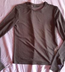 Siva providna bluza