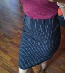 Suknja na pruge m nova
