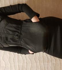 Crna sportska texas haljina