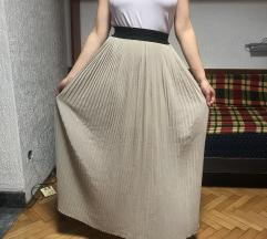 suknja duga plisirka SADA 550