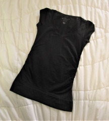 412. Pamučna majica kratkih rukava, crna