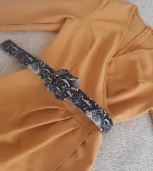 Fervente oker haljina NOVA