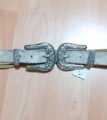 NOVO srebrni kais