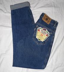 Flag jeans farmerice visokog struka NOVO