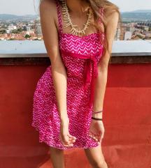 Pink letnja haljinica