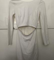 Zara bela haljina, nekoriscena