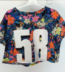 DIVIDED crop top S