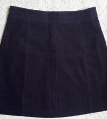 H&M ljubicasta mini suknja