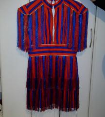 Extra moderna haljina sa resama
