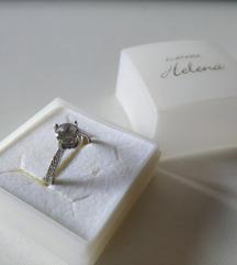 Srebrni prsten, kao verenicki