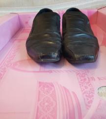 muške cipele, kožne, salonke sa produženim vrhom