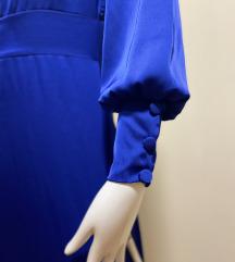 Satenska duga haljina