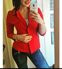 Nova crvena jaknica/sako