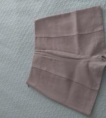 Zara puder roze šorts