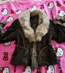 Nova jakna sa prirodnim krznom