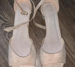 Sandale zenske nude boja