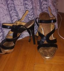 Sandale na stiklu snizeno 700