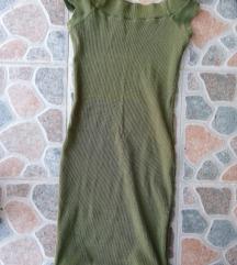 Prelepa maslinasta haljina