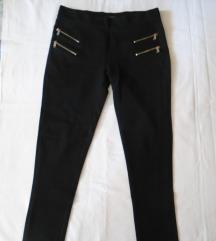 Zara crne helan pantalone