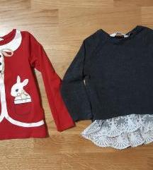 H&M bluzice 2-4 god