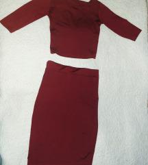 Suknja sa majicom