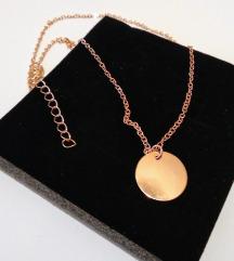 Kraca ogrlica medaljon