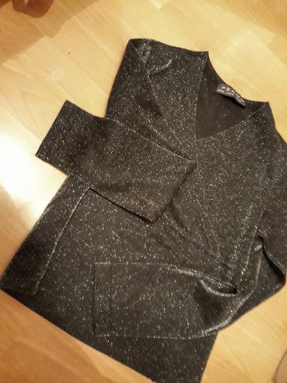 Novogodišnja bluza sa šljokicama