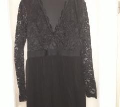 Crna haljina cipka