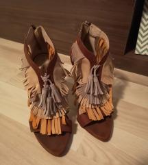 Zara sandale rese