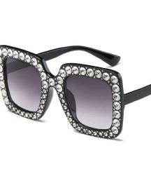 Naočare sa cirkonima-Novo