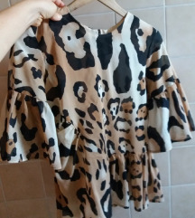 Tigrasta bluza od svile