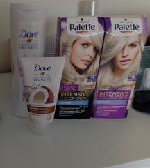 Dove-palette set NOVO
