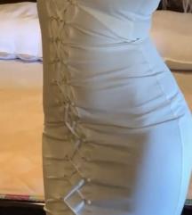 Blondy bela haljina svecana