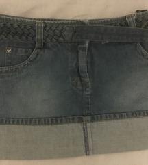 Woman Secret mini teksas suknja