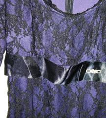 Elegantna cipkasta haljina