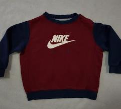 Nike original duks za bebe bordo plavi