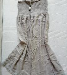 Siva lepršava haljinica, vel. S