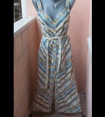 VINTAGE haljina na kopčanje '70s
