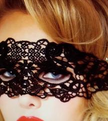 Maska od cipke, ukras za lice NOVA