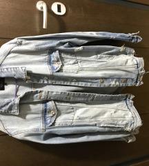 Zara oversized teksas jakna