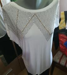 Bela majica tunika