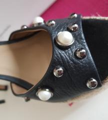 Italijanske nove kozne sandale