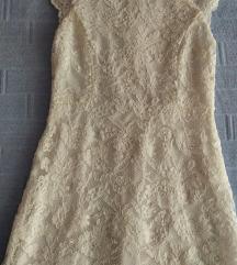 ***bela haljina L VELICINA KAO NOVA***