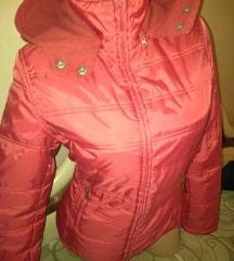 Zara crvena jakna L
