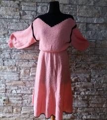 haljina bukle roze