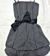 P... S... Fashion siva haljinica