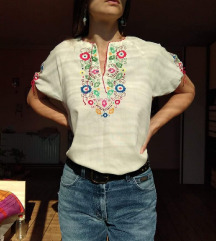 Vintage rucni rad bluza