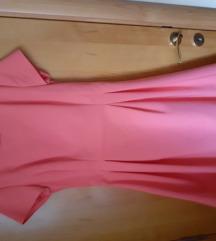 Reserved roze haljina