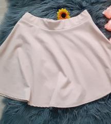 Puder roze nova suknja
